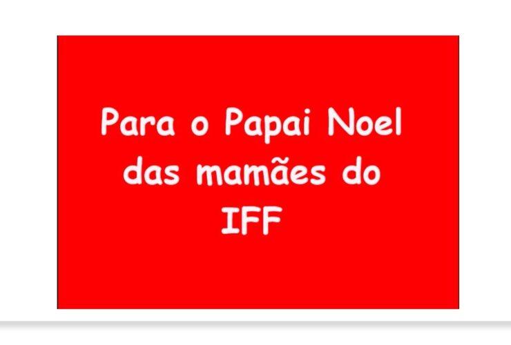 Mensagem ao Papai Noel – IFF 2020
